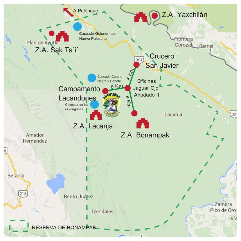 tours_chiapas_bonampak_yaxchilan_palenque_guias_en_chiapas_selva_lacandona_mayas_lacandones_aventuras_chankin_mapa_reserva_bonampak_chico